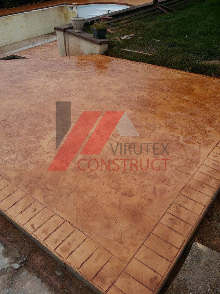 B ton imprim pour surface ext rieur virutexconstruct for Utilisation du beton cellulaire en exterieur