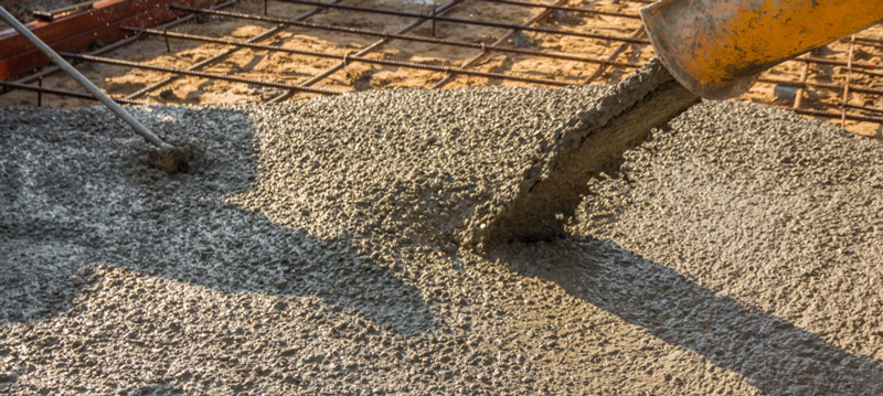 L'ajout d'adjuvants en beton