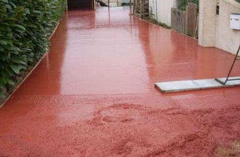 faire le beton teinte